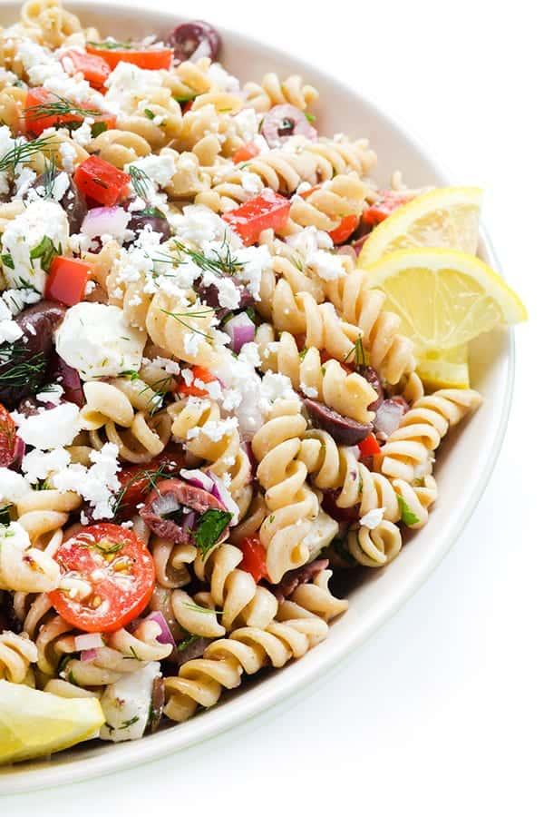 Nejlepší recept na řecký těstovinový salát