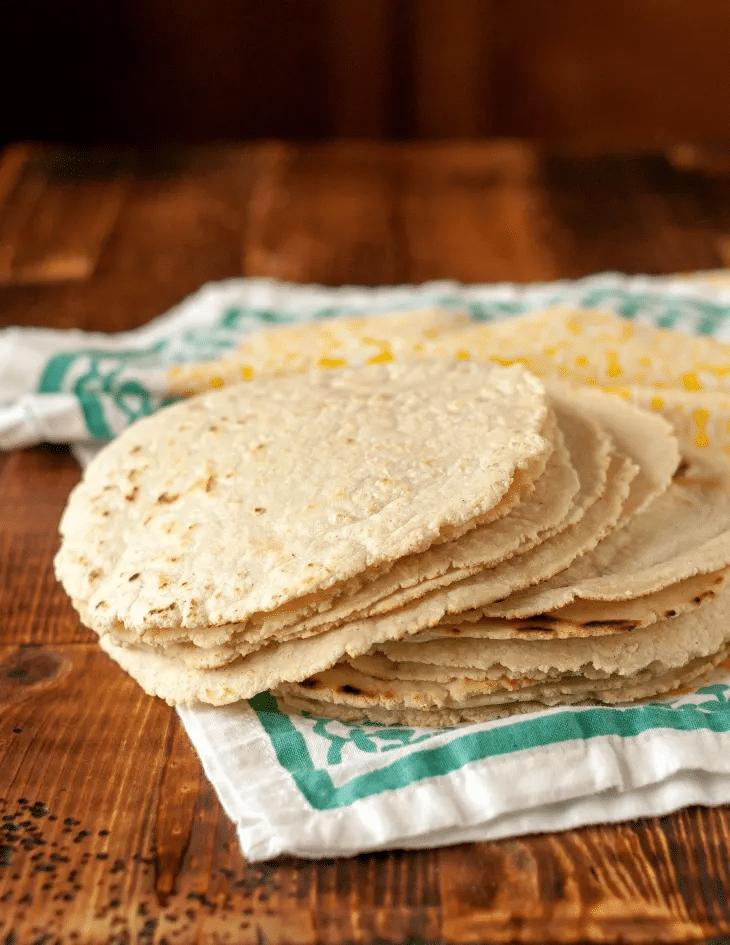 Výtečné kukuřičné tortilly