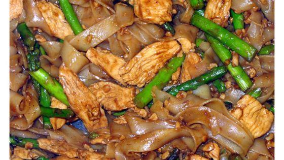 Výborný recept na rýžové nudle po Thajsku