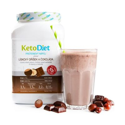 Proteinový koktejl na hubnutí KetoDiet