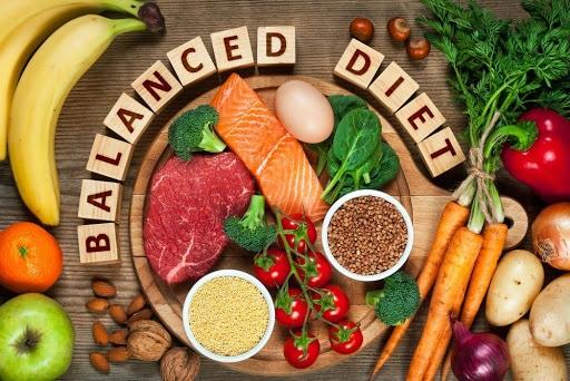 Potraviny vhodné pro zdravou a vyváženou stravu