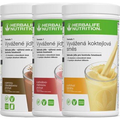 Výběr Herbalife koktejlů na hubnutí