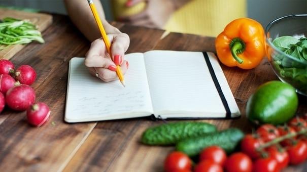 Obrázek popisující důležitost jídelníčku v rámci zdravého životního stylu
