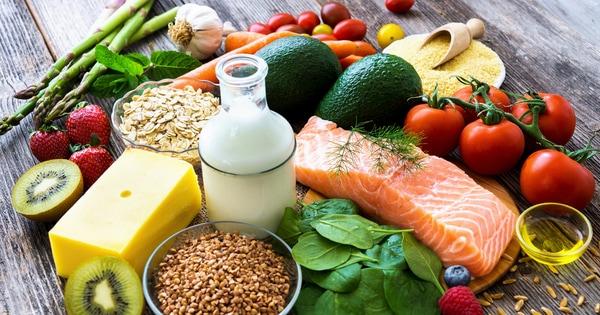 Široká paleta zdravých potravin, které jsou vhodné i na hubnutí
